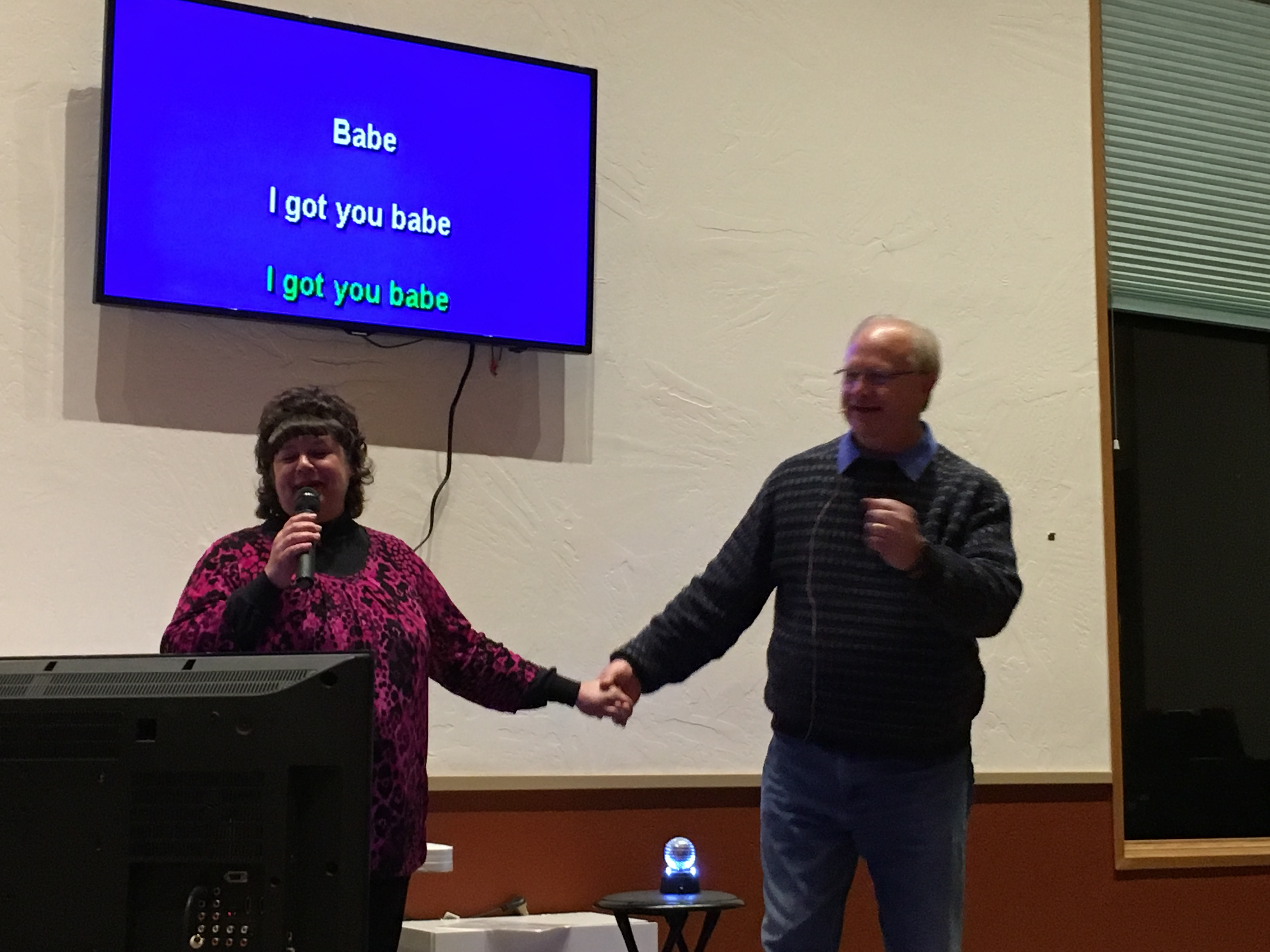 Lent Photo for the Day - Love  Those that Karaoke Together, Stay