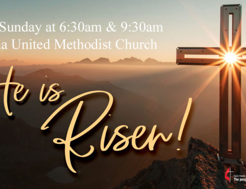 Easter Sunday at 6:30am and 9:30am — Sedona United Methodist Church